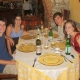 in Italy with friends, summer 2010
