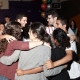 The nine dancing together at Yosef's Bar Mitzvah, May 2010