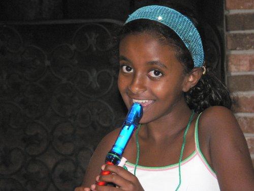 Helen in 4th grade, 2005