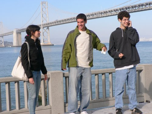 Lee & Seth visit SF, 2008