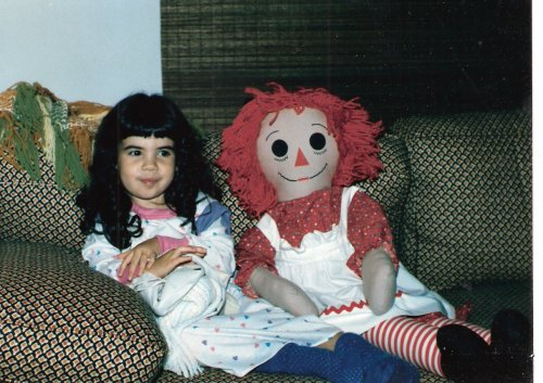 1985: Molly & Raggedy Ann