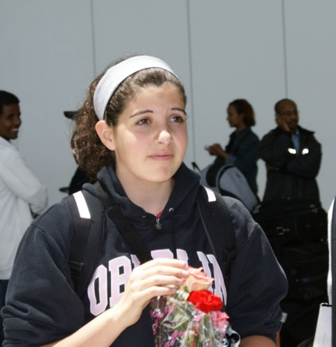 Lily arrives in Addis Ababa, 2007