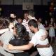 The nine dancing together at Yosef\'s Bar Mitzvah, May 2010